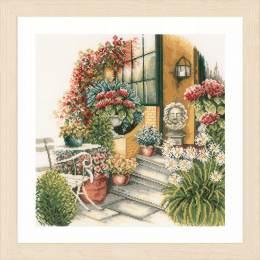 Kit au point compté terrasse en fleur d'automne - 4