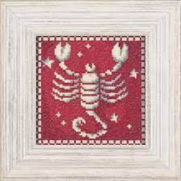 Kit pt compté signe scorpion / fond imprimé - 4