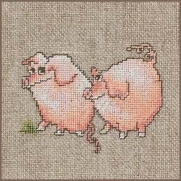 Kit au point compté cochons - 4