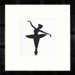 Kit au point compté silhouette ballet i - 4