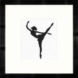 Kit au point compté silhouette ballet iii - 4