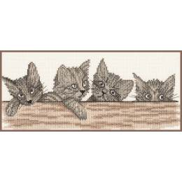 Kit au point compté chatons - 4