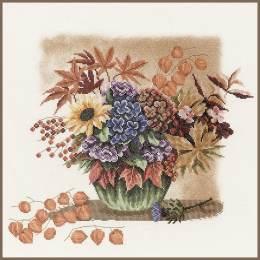 Kit au point compté bouquet d'automne - 4