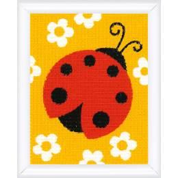 Canvas kit ladybug - 4