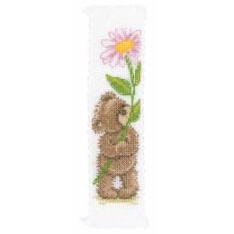 Marque-page au point compté popcorn flower for you - 4