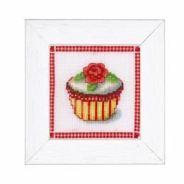 Kit miniature petit gâteau à la rose - 4