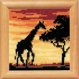 Kit miniature girafe - 4