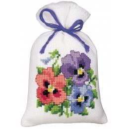 Kit sachet fleurs colorées - 4