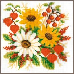 Kit au point compté beauté florale - 4
