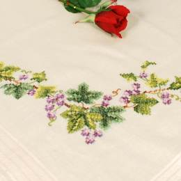 Kit nappe guirlande de fleurs - 4