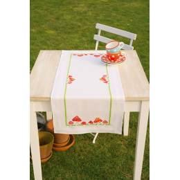 Kit chemin de table mouche agarics - 4