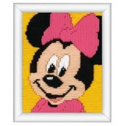 Canevas d'enfants (point lancé) minnie mouse - 4