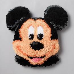 Coussin point noué mickey mouse 40x40cm - 4