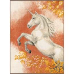 Kit au point compté imprimé licorne - 4