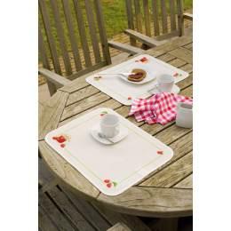 Kit set de table en plastique confiture fraises 2 - 4