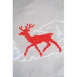 Chemin de table imprimé hiver norvégien - 4