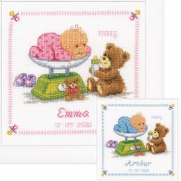 Kit au point compté bébé et ours - 4