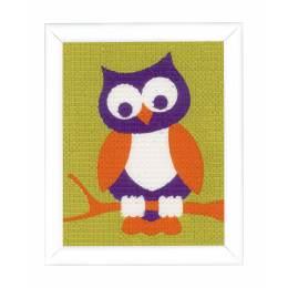 Kit tapisserie un hibou sage - 4
