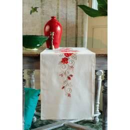 Kit chemin de table roses - 4