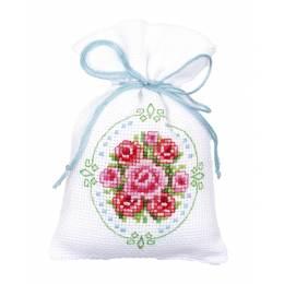 Kit sachet roses - 4
