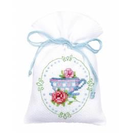 Kit sachet roses et tasse à thé - 4