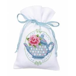 Kit sachet roses et théière - 4