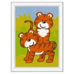 Kit tapisserie tigres - 4