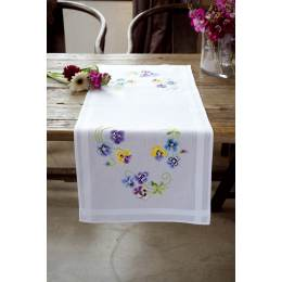 Chemin de table les plus belles violettes - 4