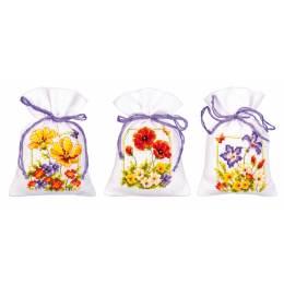 Kit sachet fleurs d'été lot de 3 - 4