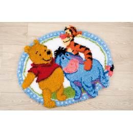 Kit tapis modelé au point noué Disney winnie - 4