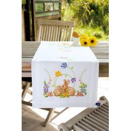 Chemin de table petits lapins - 4