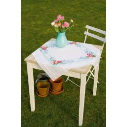 Kit nappe splendeur de fleurs roses - 4