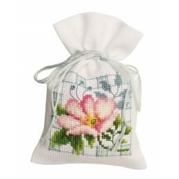 Kit sachet fleurs roses - 4