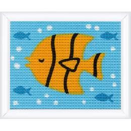 Kit tapisserie poisson - 4
