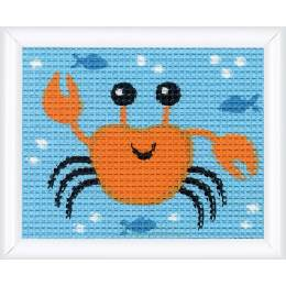 Kit tapisserie crabe - 4