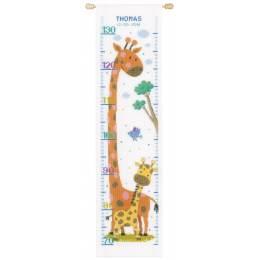 Kit toise au point compté girafe aida - 4
