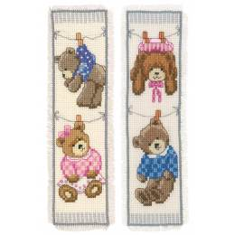 kit marque-pages birth bears lot de 2 - 4