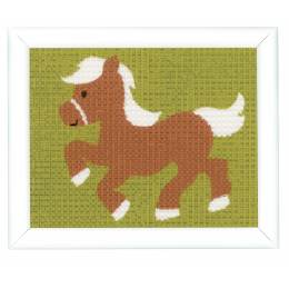 Kit tapisserie poney - 4