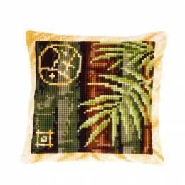Kit coussin au point de croix bambou - 4