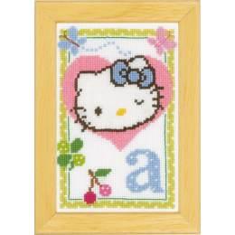 Kit miniature hello kitty alphabet a - 4