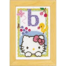 Kit miniature hello kitty alphabet b - 4