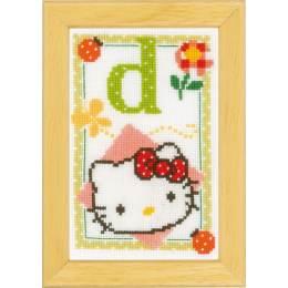 Kit miniature hello kitty alphabet d - 4