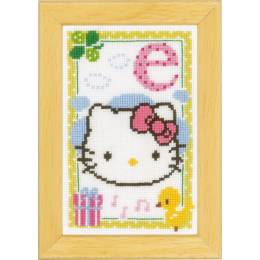Kit miniature hello kitty alphabet e - 4