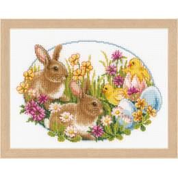 Kit au point compté lapins et poussins - 4