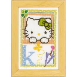 Kit miniature hello kitty alphabet k - 4