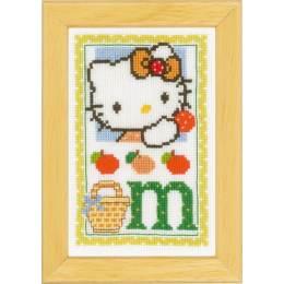 Kit miniature hello kitty alphabet m - 4