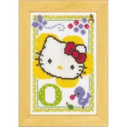 Kit miniature hello kitty alphabet o - 4