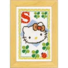 Kit miniature hello kitty alphabet s - 4