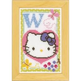 Kit miniature hello kitty alphabet w - 4