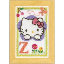 Kit miniature hello kitty alphabet z - 4
